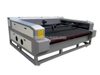 Auto feeding co2 laser cutting machine with CCD camera