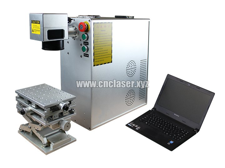 Portable fiber laser marking machine with Raycus laser 20W