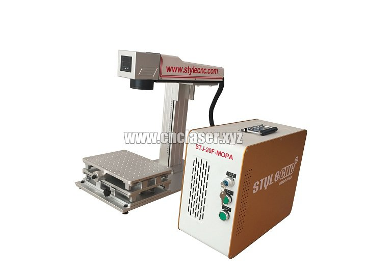 Application of Color Laser marking machine MOPA laser source on Stainless Steel