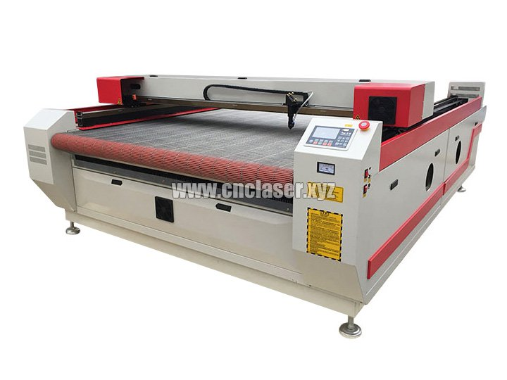 CO2 laser cutting machine is being applied to clothing industry
