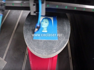 Hot sale CNC router machine with laser head for gravestone making