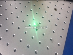 30w IPG fiber laser marking machine for deep marking on silver
