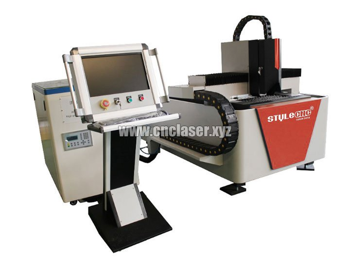 High precision small fiber laser metal cutting machine for sale