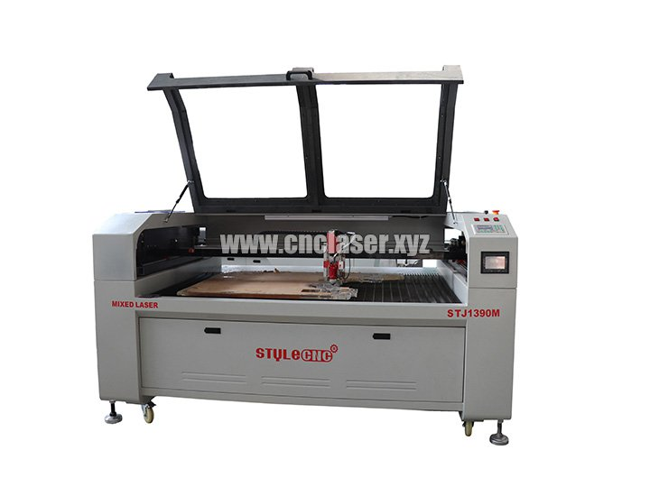 CO2 steel laser cutter machine