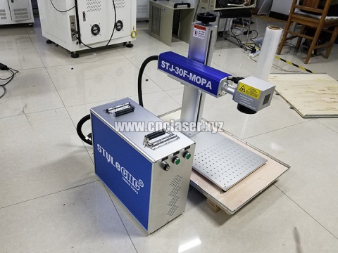 STYLECNC MOPA colored fiber laser marker system delivery to Costa Rica