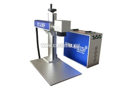 Manufacture Price Portable Fiber Laser Marking Machine for sale