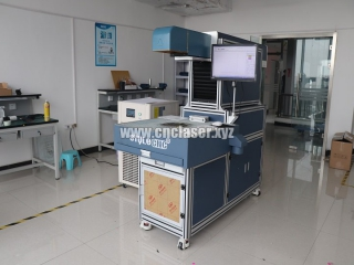 Professional 3D Dynamic Focus CO2 laser marking machine for card