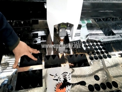 High-speed steel cutting fiber laser cutter With IPG Laser source