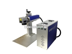 50W fiber laser marking system for deep marking