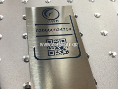 QR code color laser engraving machine with original JPT laser source