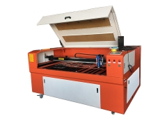 Small cnc laser cutting machine for steel and wood
