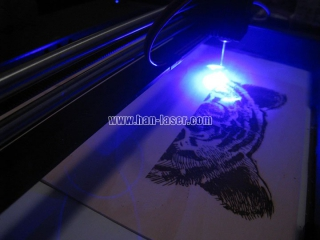 Application of laser engraving and cutting machine in advertising industry