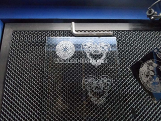 Quartz laser engraving machine performance and application