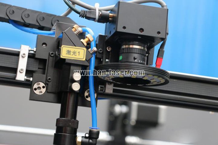 co2 laser cutting machine with CCD camera