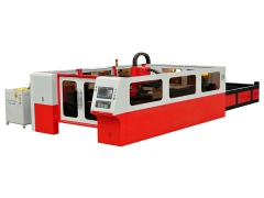 High power laser cutting machine for metal with IPG fiber las