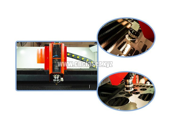 High power fiber laser cutting head details