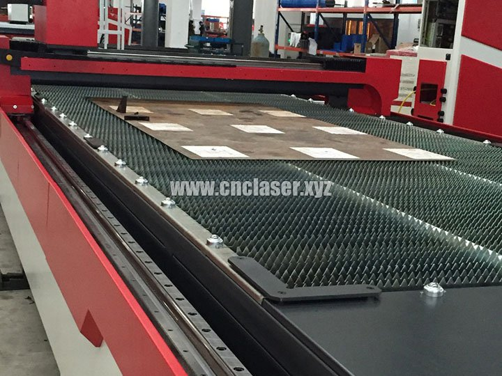 Stainless steel rack of High power laser cutting machine for metal with IPG fiber lasers