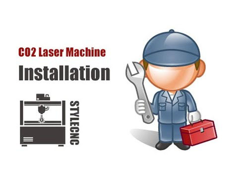 How to install CO2 laser engraving and cutting machine?