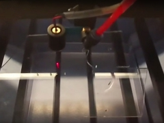 Laser engraving machine video for crafts, arts and gifts