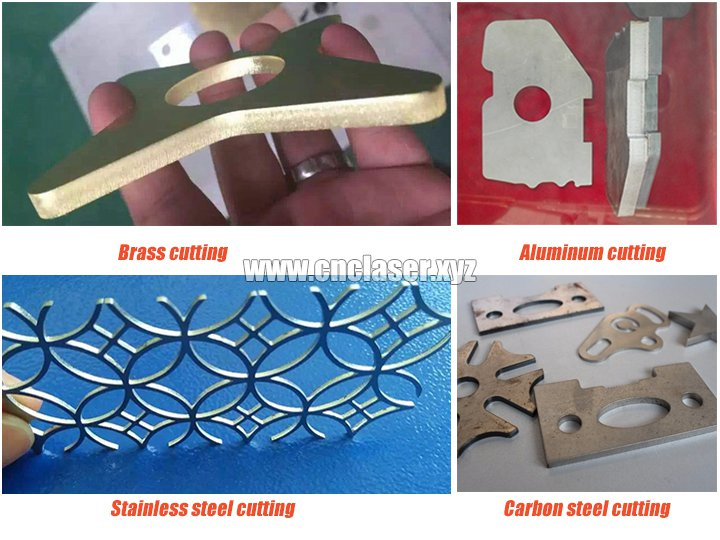 Laser metal cutting machines samples