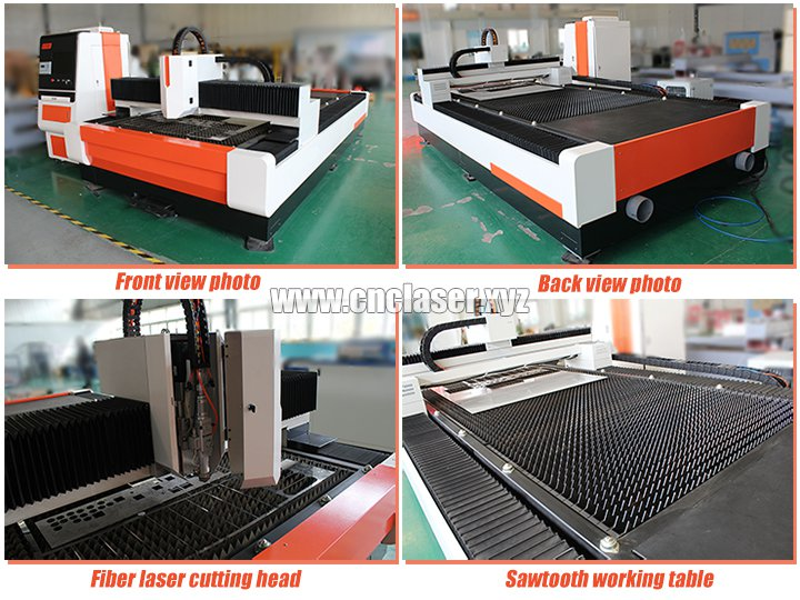 Laser metal cutting machines with new design