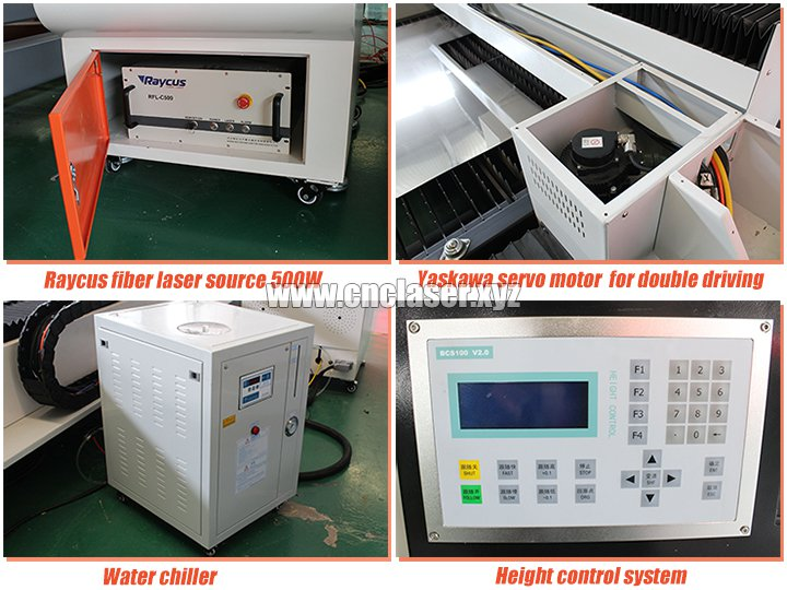 Laser metal cutting machines parts