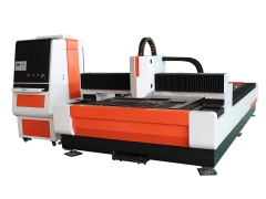 Stainless steel laser cutting machine with 500W Raycus laser source