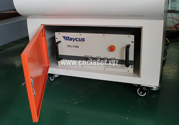 Raycus 500W laser source for stainless steel laser cutting machine