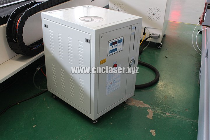 Water chiller for stainless steel laser cutting machine