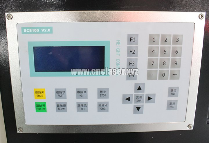 Cypcut control system for stainless steel laser cutting machine