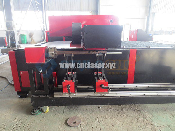 laser cutting machine with rotary device