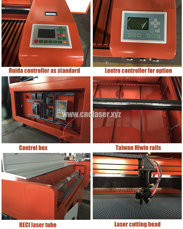 Laser paper cutting machine features