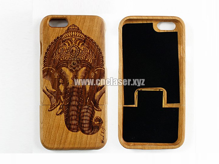 Bamboo case for Iphone 6 plus