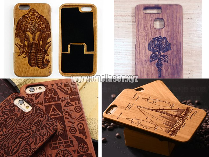 Iphone wooden case laser engraving machine