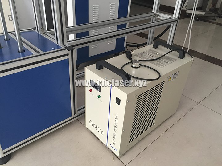 CW5000 water chiller to cooling the laser tube