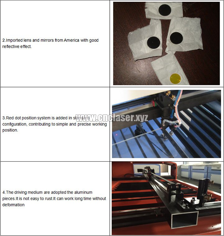 Wood laser cutting machine for wood arts&crafts features 2