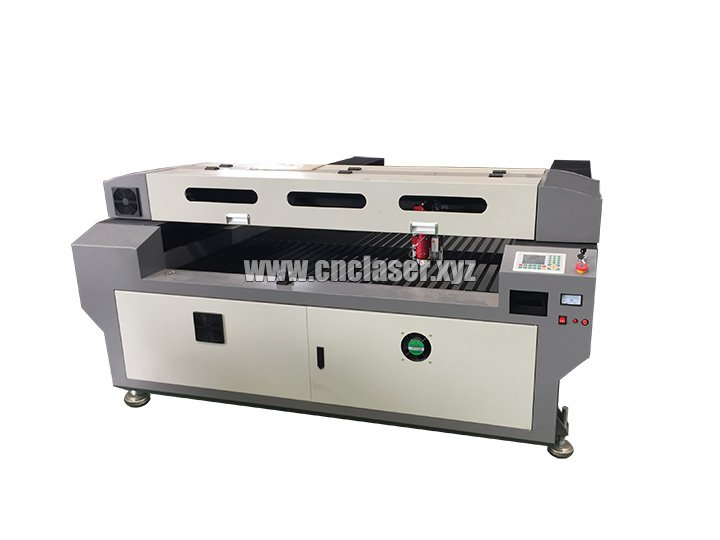 260W co2 stainless steel laser cutting machine