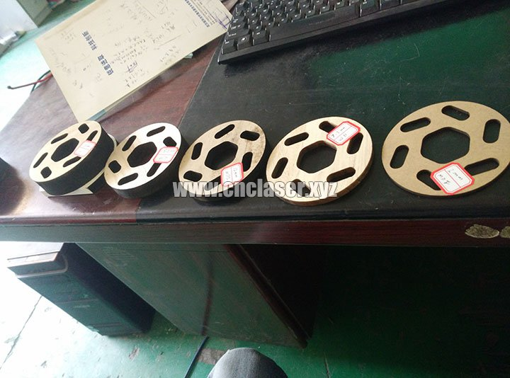 260W co2 stainless steel laser cutting machine samples 3