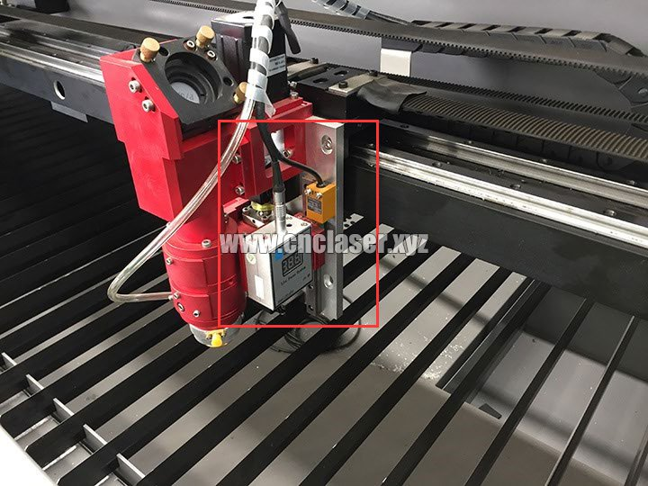 260W co2 stainless steel laser cutting machine pictures 1