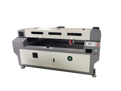 260W co2 stainless steel laser cutting machine for thick wood
