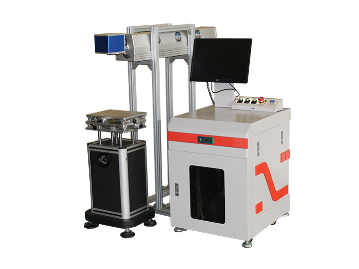 Desktop co2 laser marking machine for keyboard