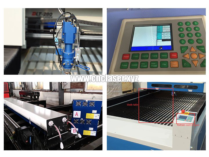 co2 laser cutting machine spare parts