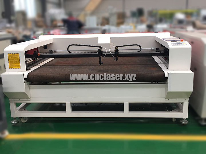 fabric laser cutter machine with auto feeding system
