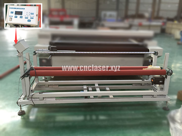 auto feeding laser cutter machine