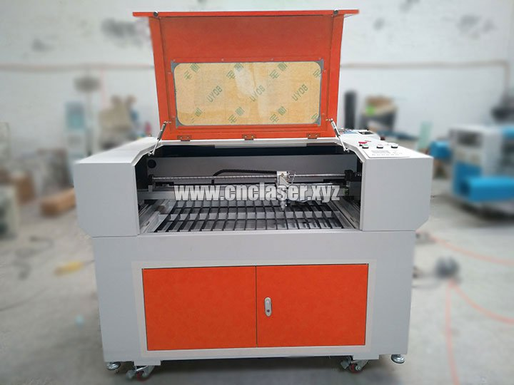 Portable laser engraving and cutting machine