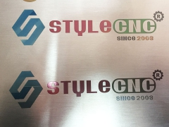 Fiber laser marker for marking color on stainless steel