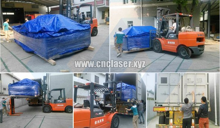 Steel plate and tubes fiber laser cutting machine package