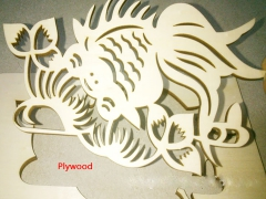CO2 laser cutting machine for plywood and die board