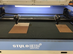 Video of 1490 Dual Heads Laser Cutter for MDF