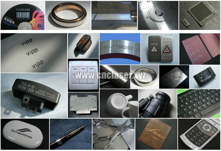 Fiber Laser Engraving Machine samples